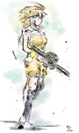 The Girl with the Machine Gun