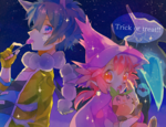 「Trick or treat!!」