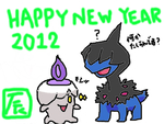 HAPPY NEW YEAR モノズ&ヒトモシ